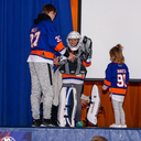 Blades for Grades: Islanders visit OLL photo album thumbnail 13
